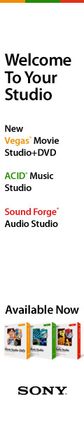 Sony Studio Products - Affordable Music and Video Creation