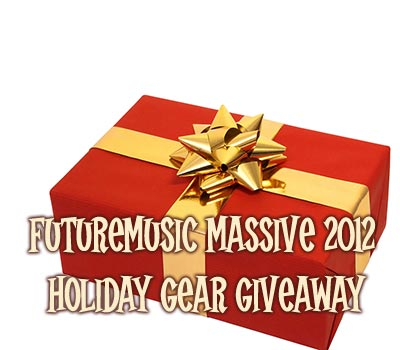 FutureMusic Massive 2012 Holiday Gear Giveaway