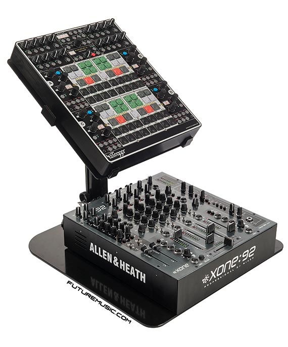 4miditrigger with the allen - heath xone92