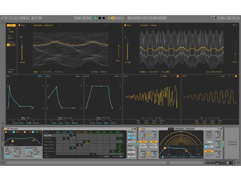 Ableton Live 10 Wavetable FutureMusic