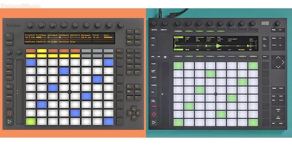 Ableton Push vs New Push by FutureMusic