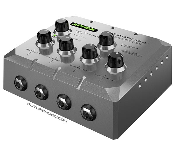 aphex headpod4 headphone amplifier