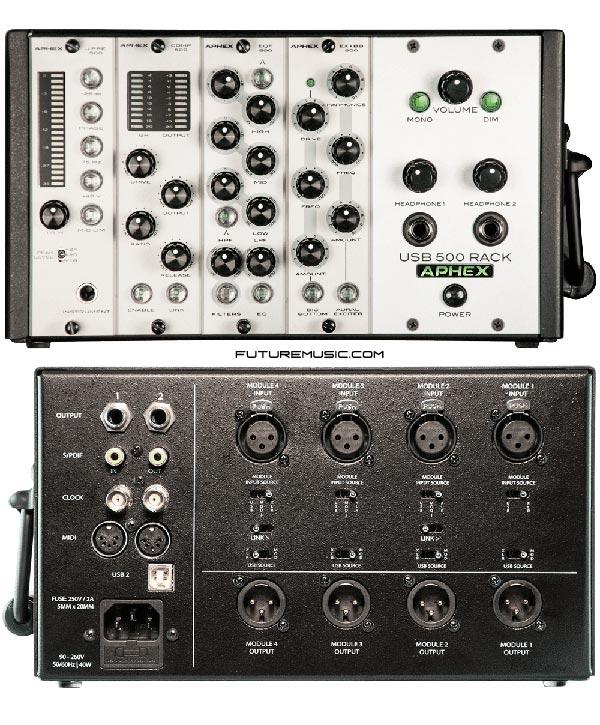 Aphex-USB 500 Series Rack