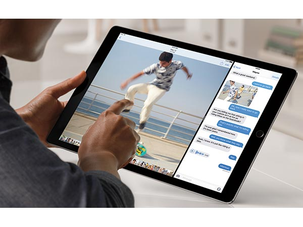 Apple iPad Pro in use