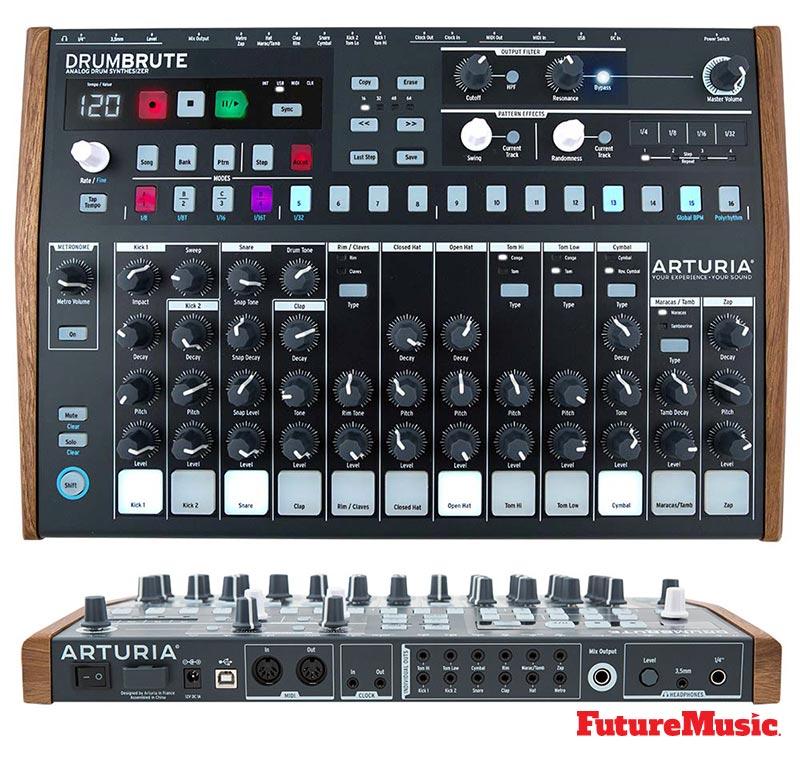 Arturia-drumbrute-FutureMusic
