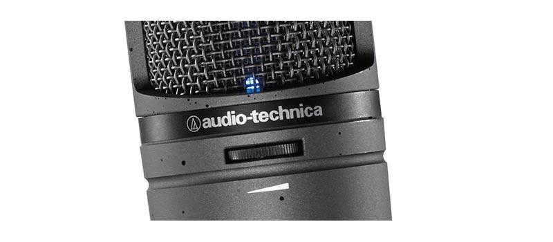 Audio Technica AT2020USBi closeup