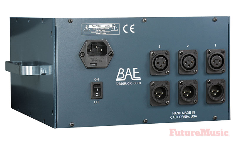BAE 1066DL PreAmp EQ Back View