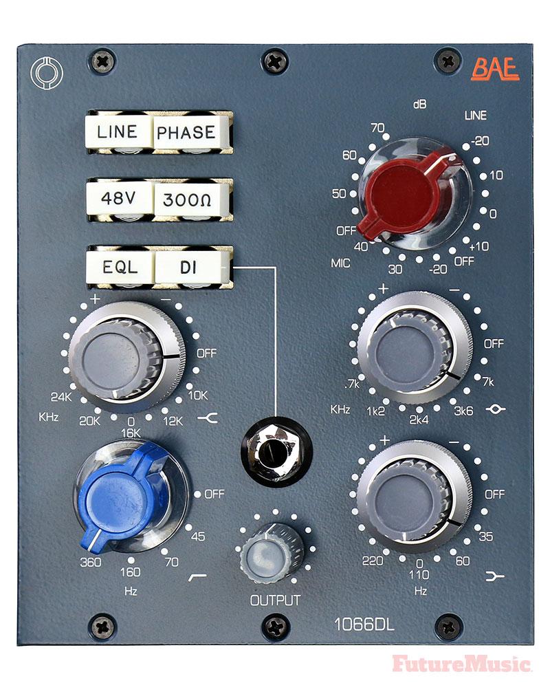 BAE 1066DL PreAmp EQ 500 Series