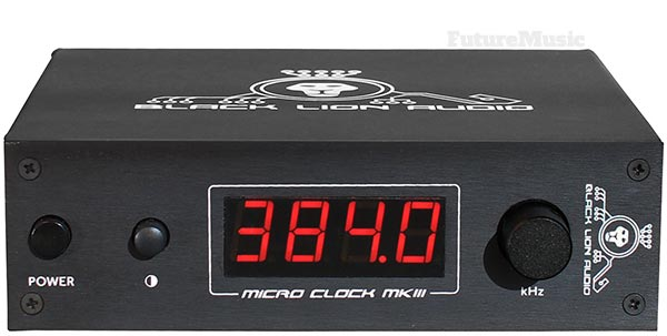 Black Lion Audio MicroClock 3 Review - Front