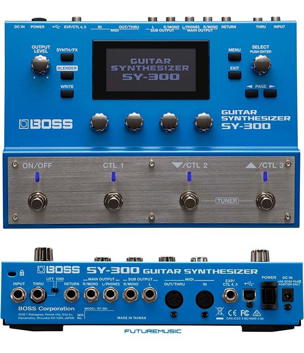 BOSS-SY-300 guitar synth