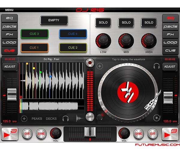 IK Multimedia Introduces DJ Rig For iPad