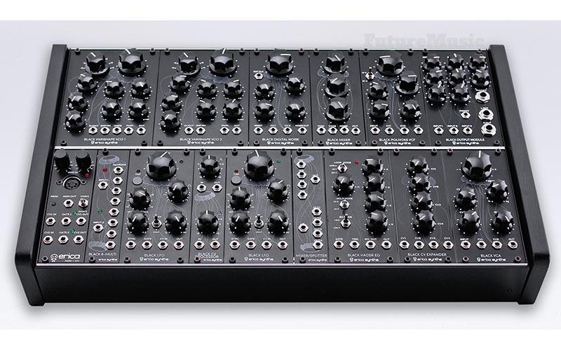 Erica Synths Black analog Modular System