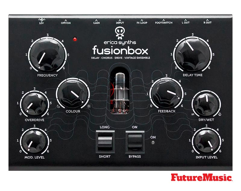 Erica Synths FusionBox Top View from FutureMusic