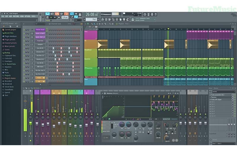 Fruity Loop Studio 12 3 interface