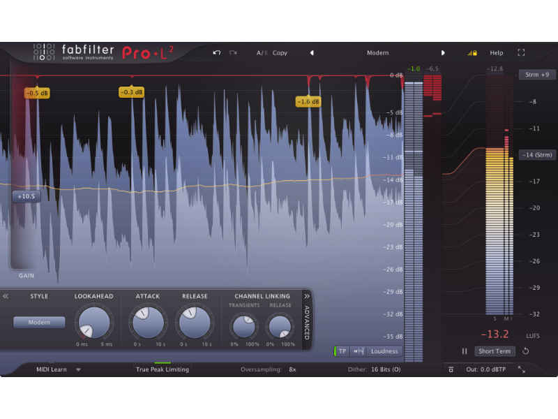 FabFilter Pro-L Limiter from FutureMusic Music News