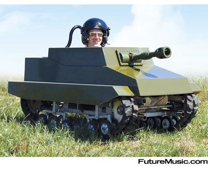Mini tank