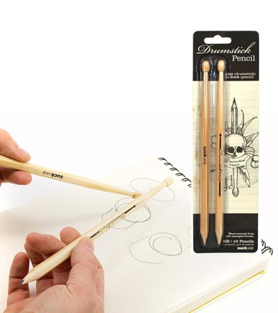 FutureMusic Holiday 2016 Gift Guide Suck UK's Drumstick Pencils