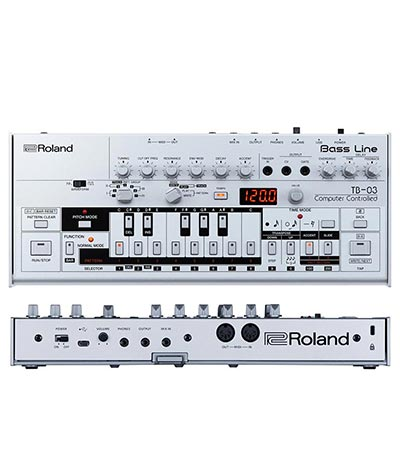 FutureMusic Holiday 2016 Gift Guide Roland TB-03