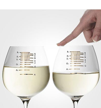 FutureMusic Holiday 2016 Gift Guide Nostalgics Musical Wine Glasses