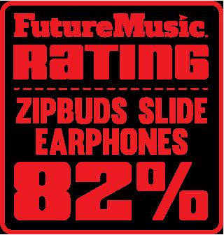 FutureMusic Zipbuds Slide 82 Rating