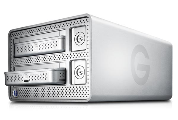 G-Technology G | DOCK ev - 2013 Gear Of The Year - Fully Swappable Dual-Bay Storage System