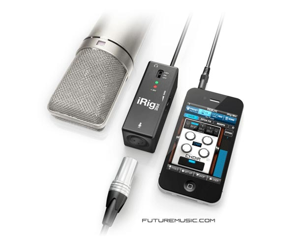 IK Multimedia's iRig PRE XLR Mic Interface For iOS Devices Now Shipping