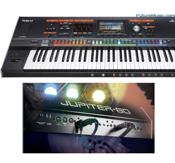 Jupiter 80 Sneak In Keyboard