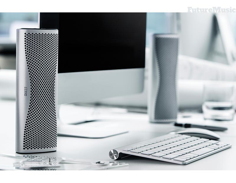 KEF Muo Wireless Speaker in the Office