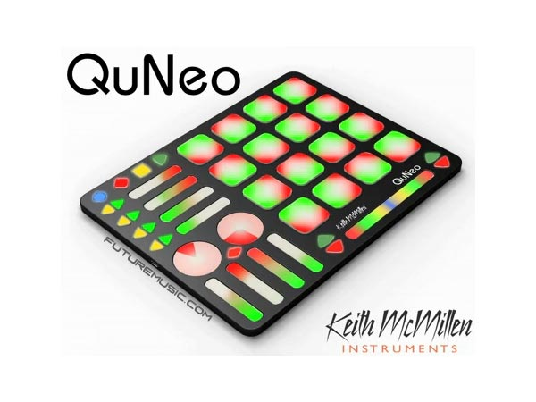 Keith McMillen QuNeo - 3D Multi-touch Open Source MIDI & USB Pad Controller