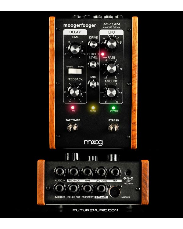 Moog Trots Out MF-104M Analog Delay