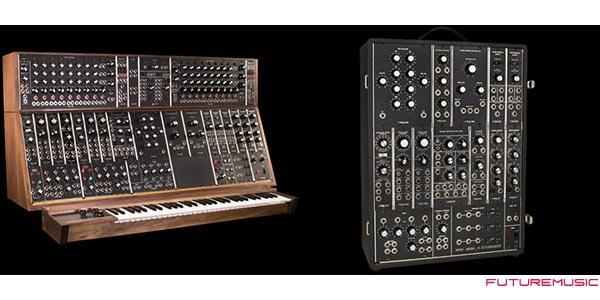 Moog System35 System15 Modular Synths