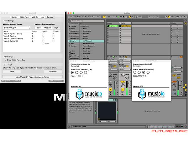 MusicIO 1.3 Ableton Live Integration
