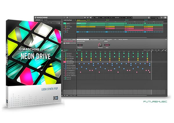 NI Neon Drive Maschine Expansion