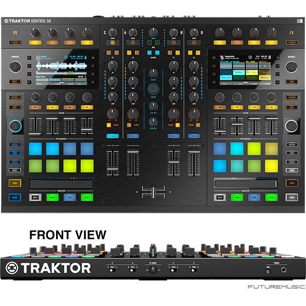 Instruments announces traktor kontrol s8 dj controller release date