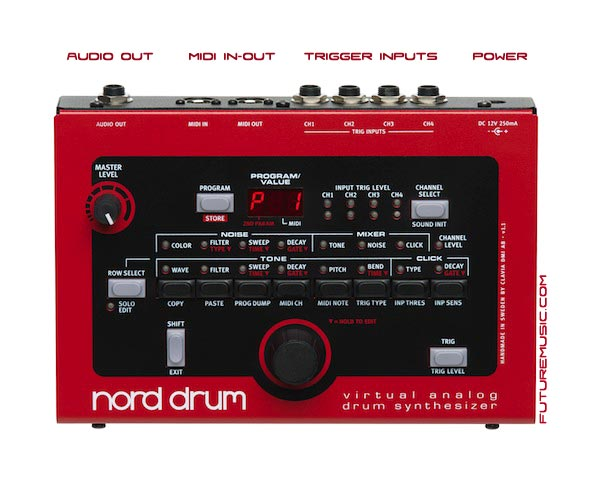 Clavia Announces Nord Drum – Virtual Analog Performance Module