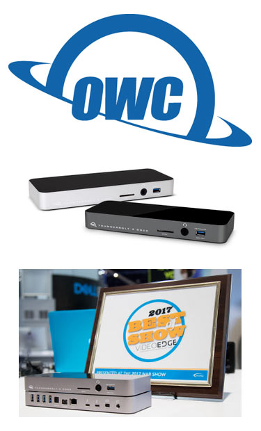 OWC Thunderbolt 3 dock review sidebar