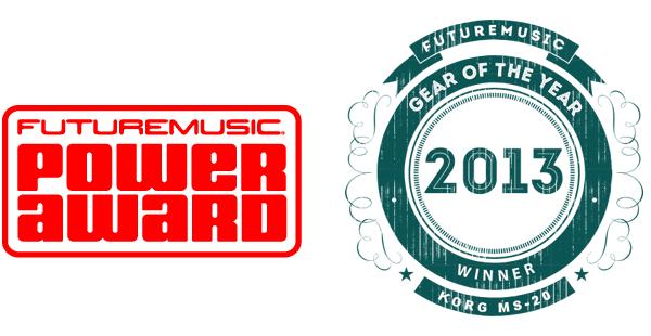 Korg MS-20 Mini - 2013 FutureMusic Gear Of The Year Award Winner - Best Sub $1000 Synth