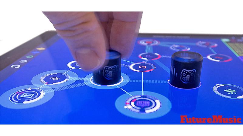 Reactable Rotor iPad FutureMusic