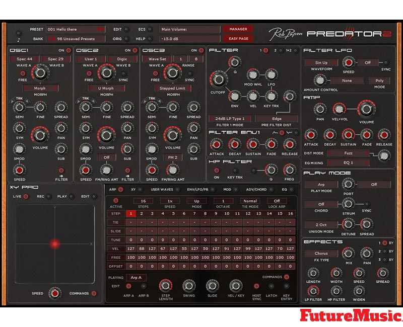Rob Papen Predator2 FutureMusic