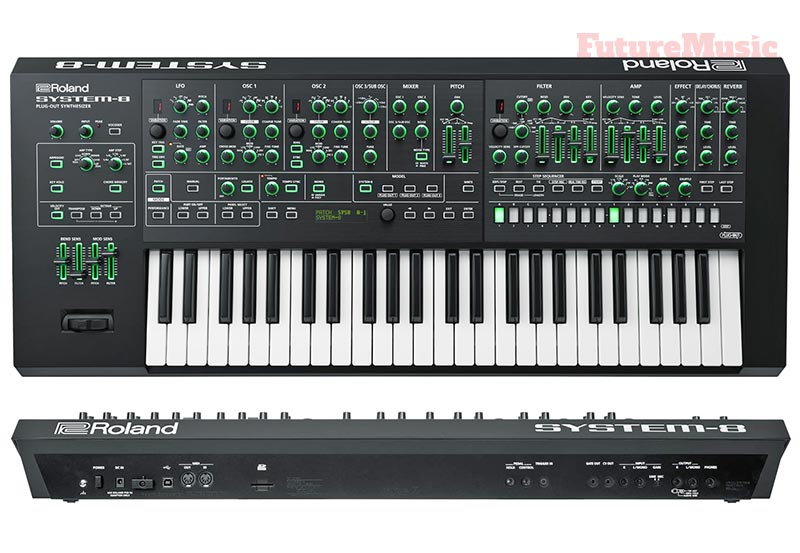 Roland system-8 synth
