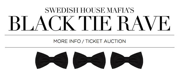 Swedish House Mafia Announce Hurricane Sandy Black Tie Rave Benefit Show