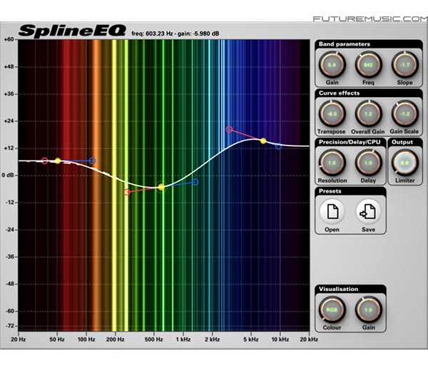 Michel Rouzic Unleashes SplineEQ –  Linear Phase Equalizer