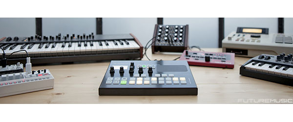 Squarp Pyramid tabletop sequencer