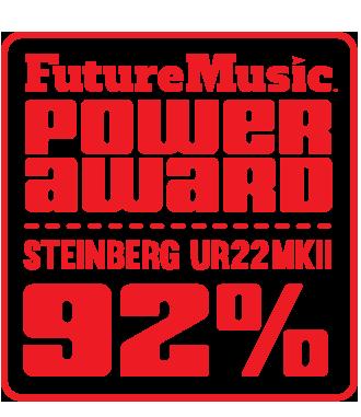Steinberg UR22 mkII Power Award 92 Rating