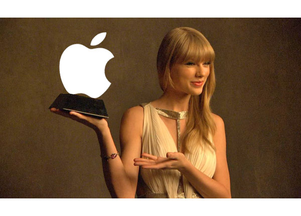 Taylor Swift Owns Apple