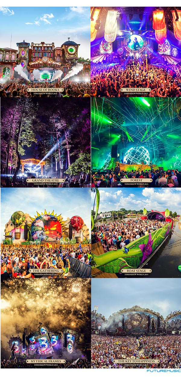 TomorrowWorld 2015 Stages