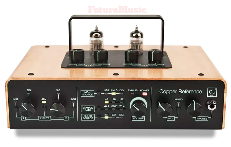 Tracktion-copper-reference audio interface