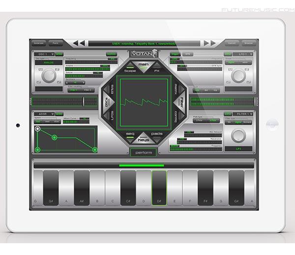 VotanDSP-Telepathy Synth iPad