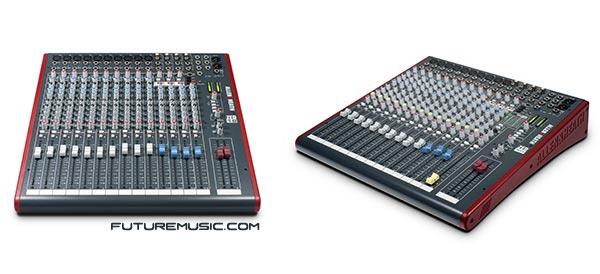 Allen & Heath ZED-16FX and ZED-18 Mixers
