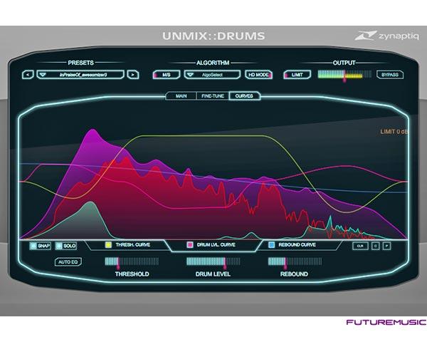 Zynaptiq UNMIX-DRUMS plug in